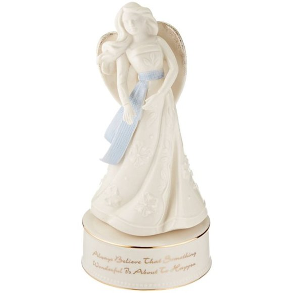 Lenox Gifts of Grace Revolving & Musical Angel